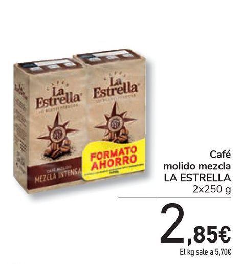 Oferta de Café molido mezcla LA ESTRELLA por 2,85€