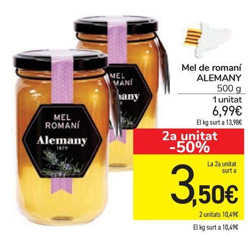 Oferta de Mel de romaní ALEMANY por 6,99€