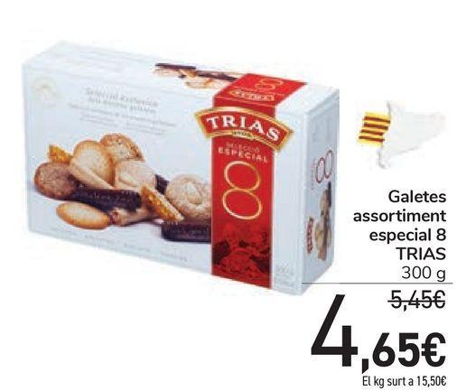 Oferta de Galetes assortiment especial 8 TRIAS por 4,65€