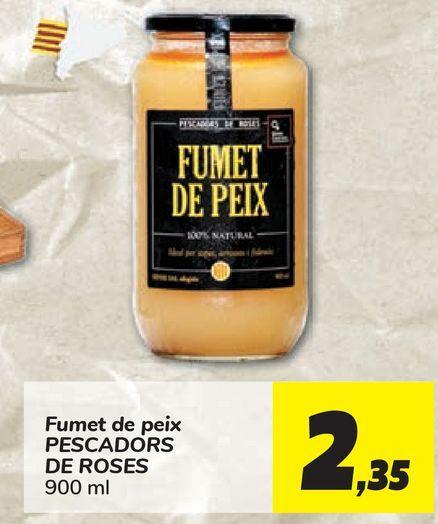 Oferta de Fumet de peix PESCADORS DE ROSES por 2,35€