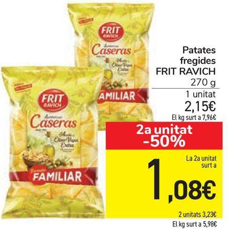 Oferta de Patates fregides FRIT RAVICH  por 2,15€