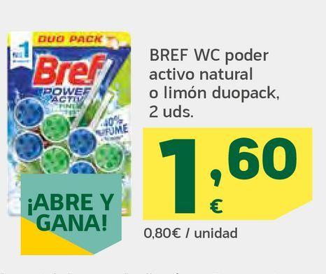 Oferta de Poder activo natural o limón duopack por 1,6€