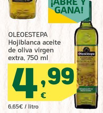Oferta de Hojiblanca aceite de oliva virgen extra por 4,99€