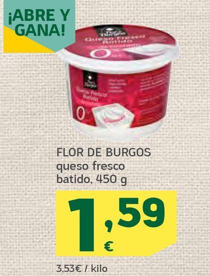 Oferta de  Queso fresco batido por 1,59€