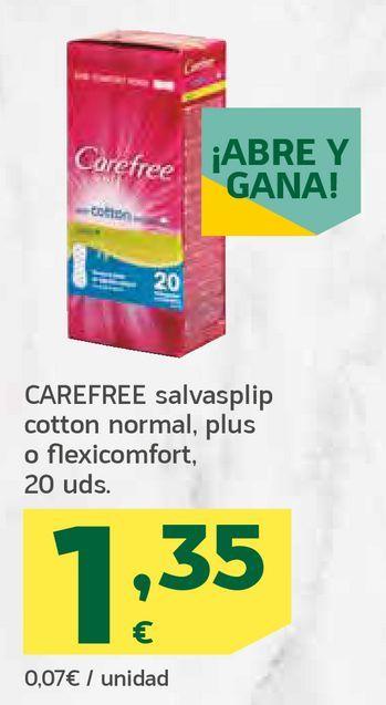Oferta de Salvasplip cotton normal, plus o flexicomfort por 1,35€