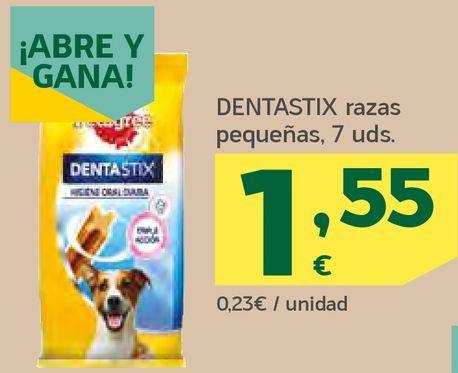 Oferta de Dentastix raza pequeñas por 1,55€