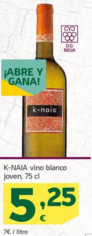 Oferta de Vino blanco joven por 5,25€