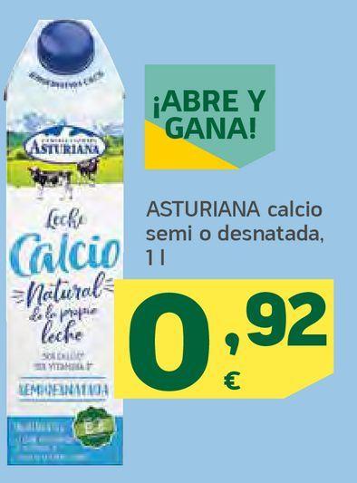 Oferta de Asturiana calcio semi o desnatada por 0,92€