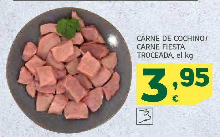 Oferta de Carne de cochino por 3,95€