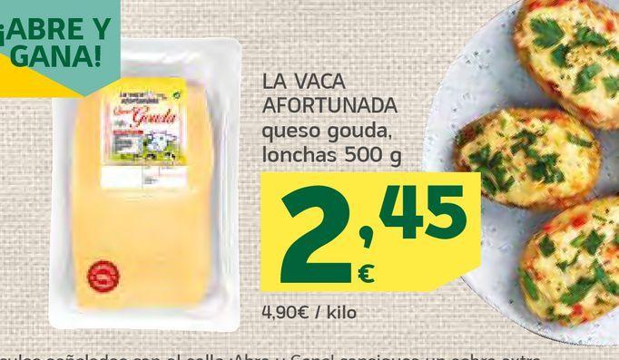 Oferta de Queso gouda lonchas por 2,45€