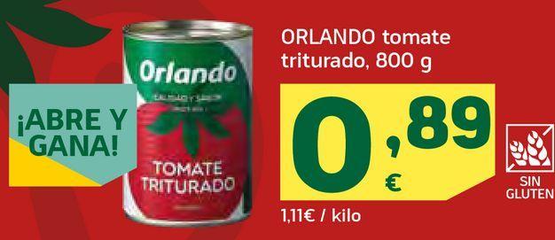 Oferta de Tomate triturado  por 0,89€