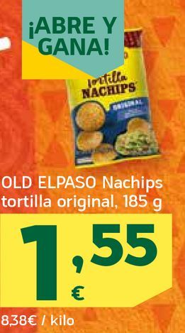 Oferta de Nachips tortilla original por 1,55€