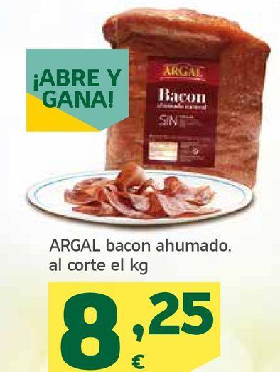 Oferta de Bacon ahumado  por 8,25€