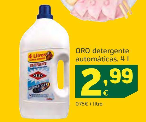 Oferta de Detergente automáticas por 2,99€