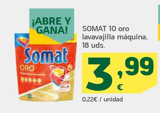Oferta de Oro lavavajillas máquina por 3,99€