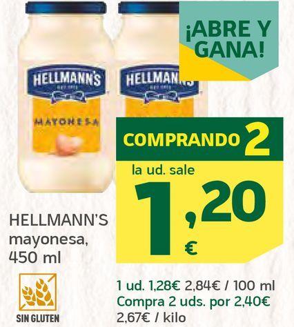 Oferta de Mayonesa  por 1,2€