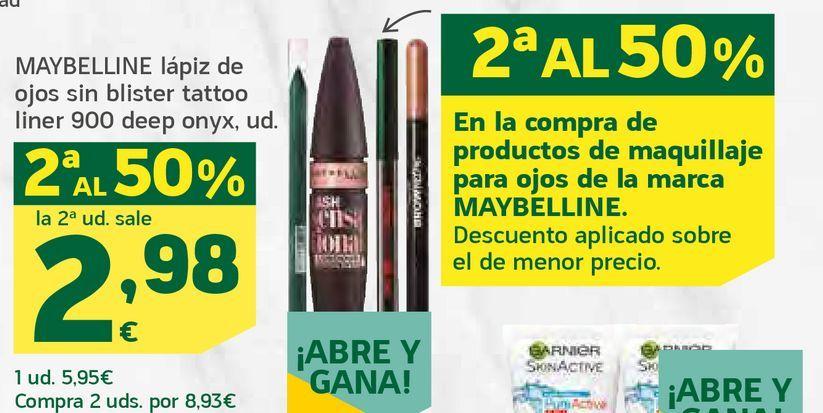 Oferta de Lápiz de ojos sin blister tattoo liner por 2,98€