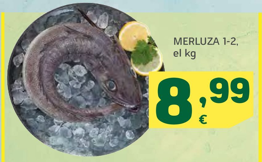 Oferta de Merluza por 8,99€