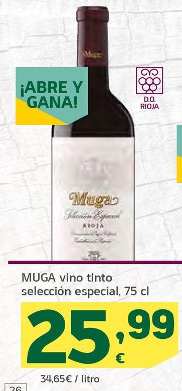 Oferta de Vino tinto selección especial por 25,99€