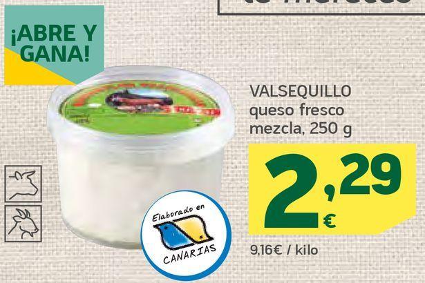Oferta de Queso fresco mezcla por 2,29€