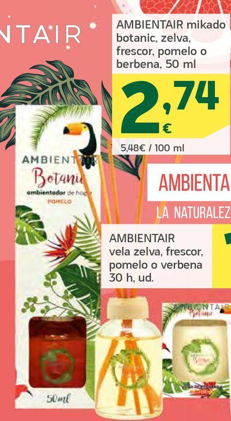 Oferta de Ambientador mikado por 2,74€