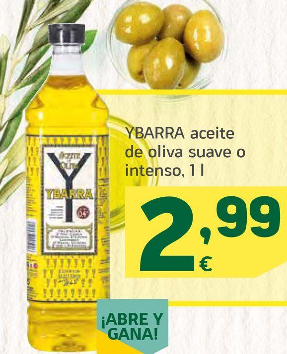 Oferta de Aceite de oliva suave o intenso por 2,99€