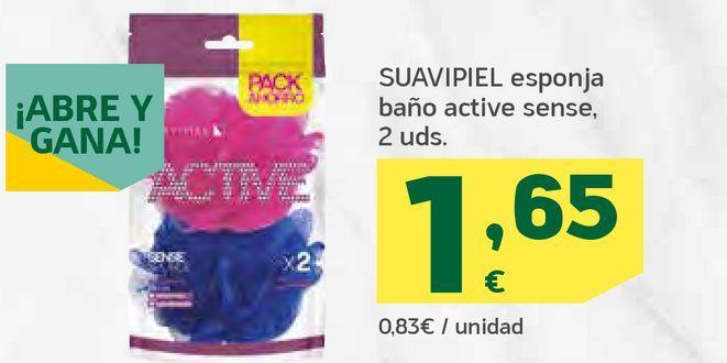 Oferta de Esponja baño active sense por 1,65€