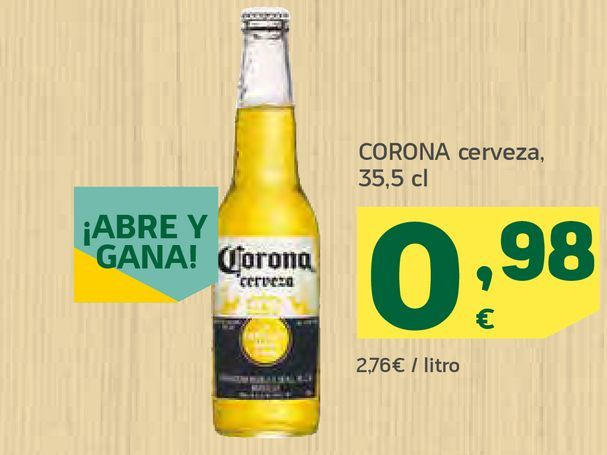 Oferta de Cerveza por 0,98€