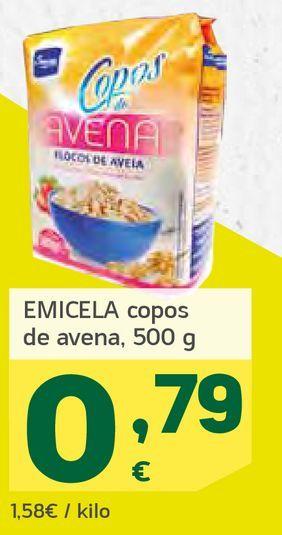 Oferta de Copos de avena  por 0,79€