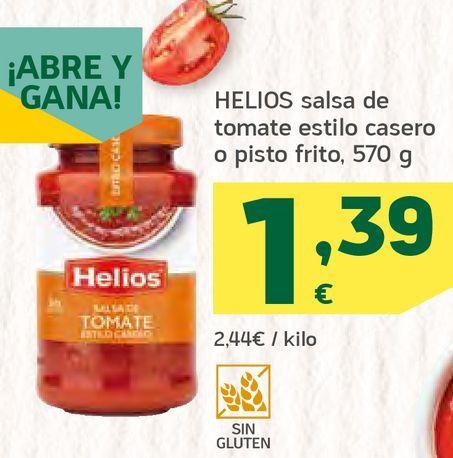 Oferta de Salsa de tomate estilo casero o pisto frito por 1,39€