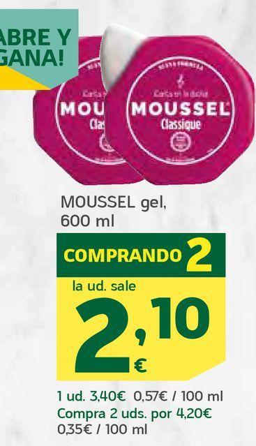 Oferta de Gel por 2,1€