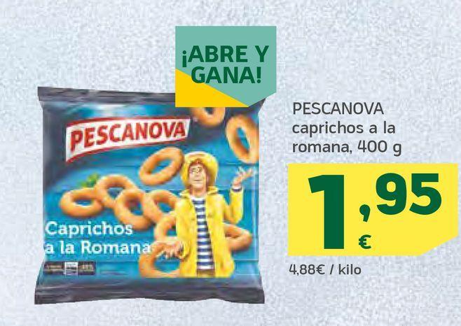 Oferta de Caprichos a la romana por 1,95€