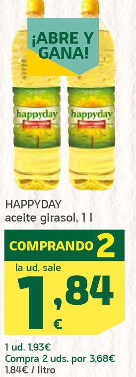 Oferta de Aceite de girasol por 1,84€