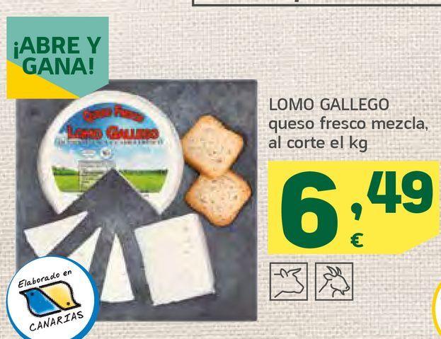 Oferta de Queso fresco mezcla por 6,49€