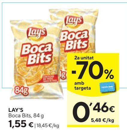 Oferta de Patatas fritas bocabits por 1,55€