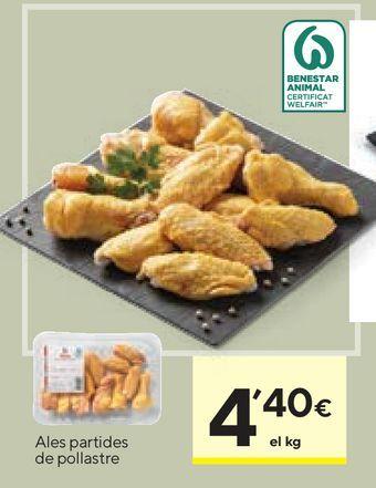 Oferta de Alas de pollo por 4,4€