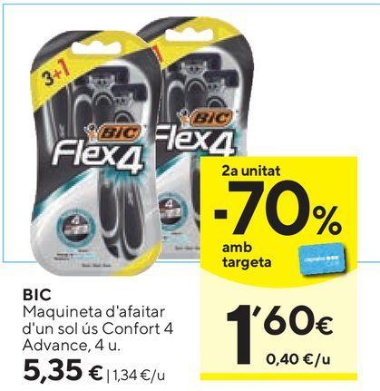 Oferta de Maquinilla BIC por 5,35€