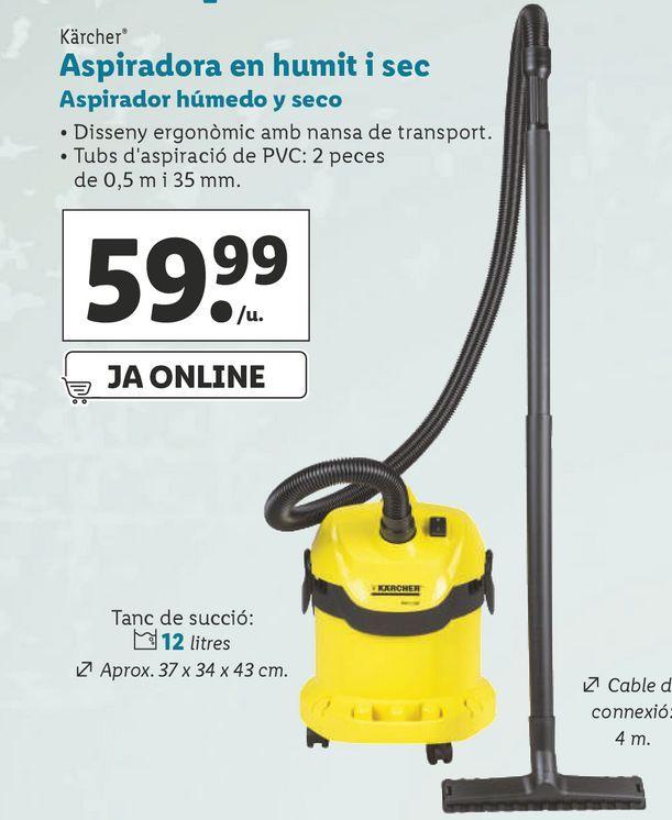 Oferta de Aspirador Kärcher por 59,99€