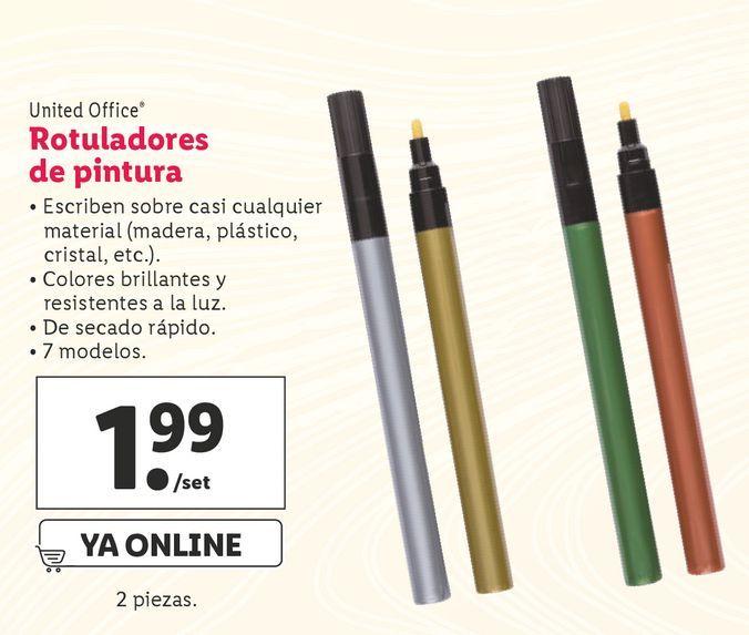 Oferta de Rotuladores United Office por 1,99€