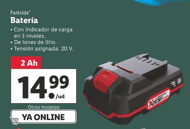 Oferta de Accesorios Parkside por 14,99€