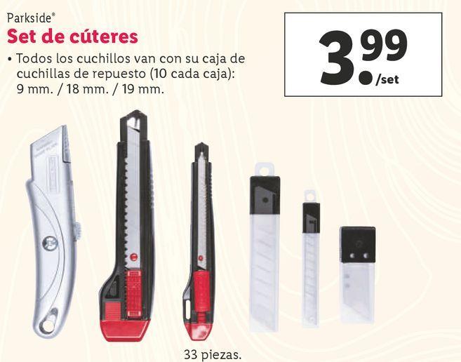 Oferta de Manualidades Parkside por 3,99€