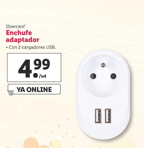 Oferta de Enchufes SilverCrest por 4,99€
