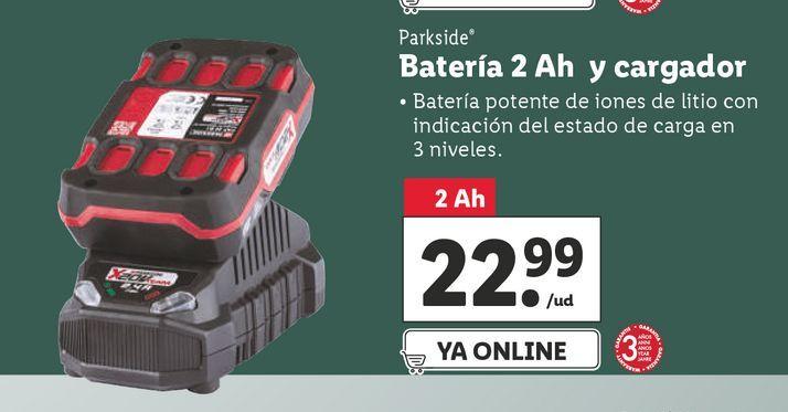 Oferta de Accesorios Parkside por 22,99€