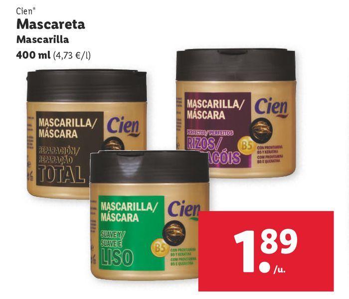 Oferta de Mascarilla Cien por 1,89€