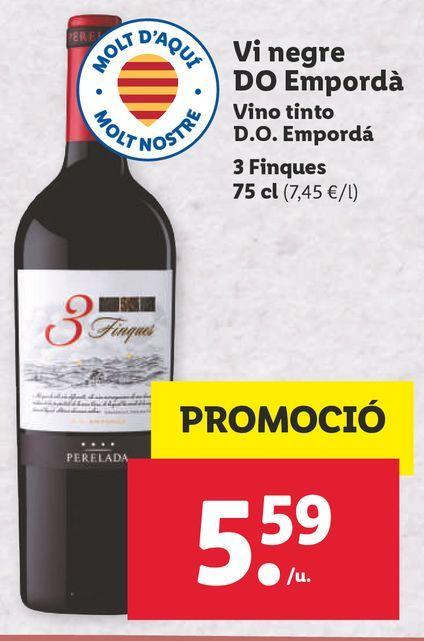 Oferta de Vino tinto por 5,59€