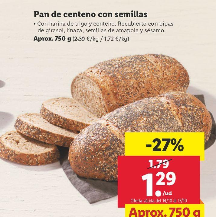 Oferta de Pan por 1,29€
