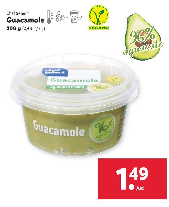 Oferta de Guacamole chef select por 1,49€