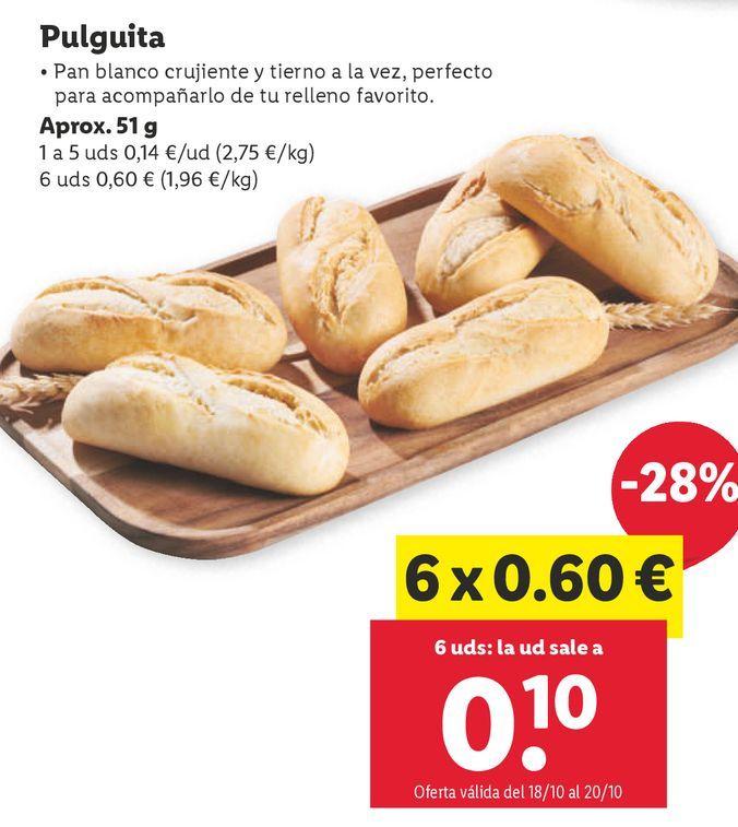 Oferta de Pan por 0,14€