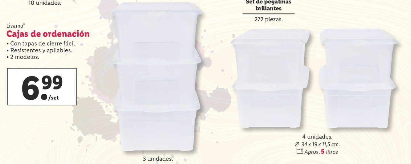 Oferta de Cajas Livarno por 6,99€