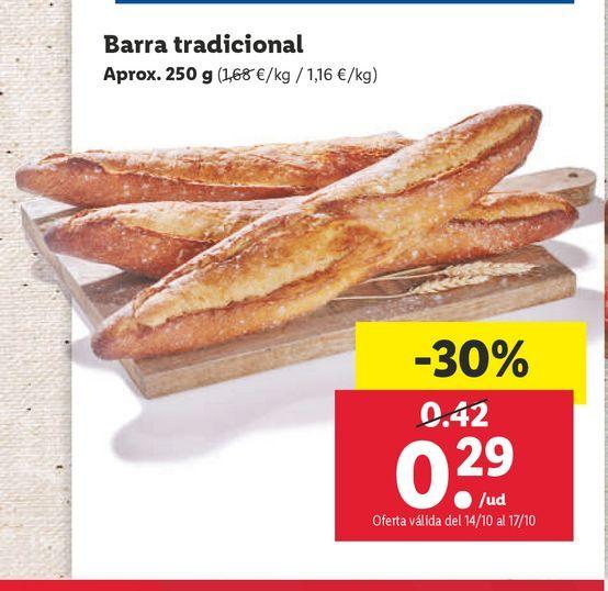 Oferta de Pan por 0,29€